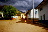 Peru Andes, Maron river town 2004