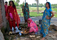 Village Women in Uttar Pradesh India