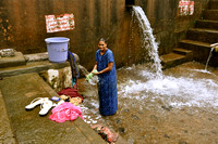 Woman Doing Washing Kanataka