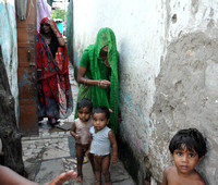 Jaipur Slum School Women and Children (5)