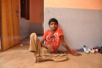 Jaggu 15 year old Indian boy from Gop Pur village U.P. India