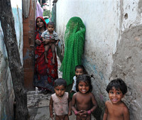 Jaipur Slum School Women and Children (4)